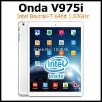 ONDA V975i Intel Bay Trail-T Z3735D 64bit CPU Tablet PC 9.7Inch Retina Screen 2048x1536 Android 4.2 2GB RAM 32GB