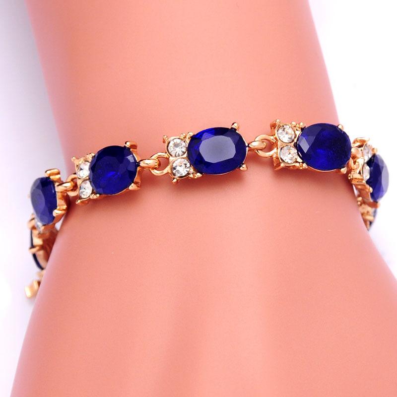 Free shipping Trendy Women 18k Yellow Gold Plated 3 Colors CZ Diamond Owl Austrian Crystal Bracelets & Bangles Jewelry Wholesale(China (Mainland))