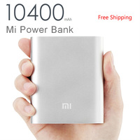 2014 Direct Selling Original xiaomi Power Supply Bank 10400mah Portable Charger Powerbank External Battery for Cell Phone