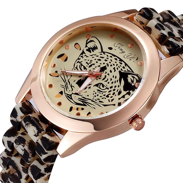 женщина часы relogio feminino леопарда смотреть