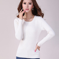 Wool sweater womens sweaters fashion 2014 autumn woman sweater winter 2014 pullovers thick sweaters long sleeve knitwear