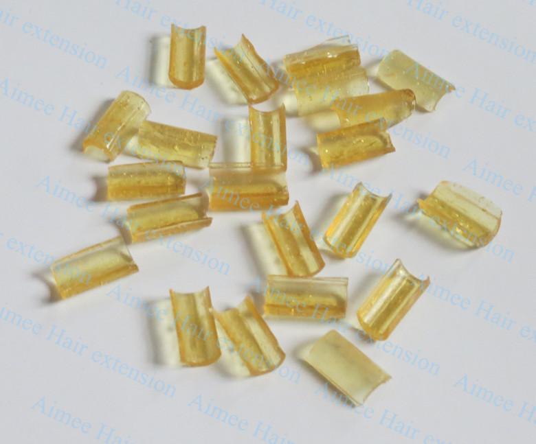 Grátis frete 1000 pcs queratina cola prego dica queratina transparente amarelo(China (Mainland))