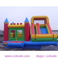 Commercial Inflatable Slide Bouncer For Sale
