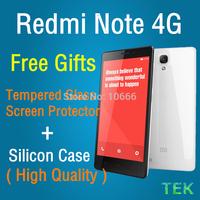 OriginalXiaomi Redmi Note 4G LTE Enhanced Version 2GB Ram 8GB Rom Snapdragon 400 1.6GHz Quad Core MIUI V5 Smartphone 5.5 Inch HD