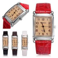 2014 Quality Brand Fashion Women Watch Relogio Feminino Casual Analog Alloy Rose Gold Watches Leather Gift Clock Freeship U20160
