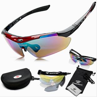 2014 männer frauen radsport brillen sonnenbrillen outdoor Radfahren brille fahrrad uv400 sport sonnenbrille 5 Linsen Originalverpackung