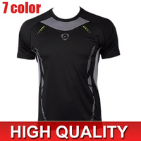 2014 Men's Designer Quick Drying Casual T-Shirts Tee Shirt Slim Fit Tops New Sport Shirt S M L XL LSL3225