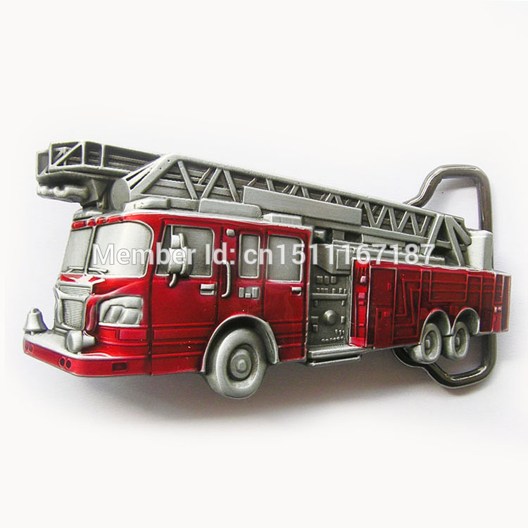 Distribute Belt Buckle Fire Truck Belt Buckle Free Shipping 6pcs Per Lot Mix Style is Ok(China (Mainland))