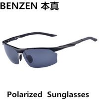 2014 Men sunglasses  Polarized  sun glasses  driver driving  glasses Sports glasses with case black 2024A
