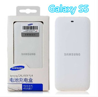 20pcs/lot free shipping DHL High Quality External Extended Battery Charger + 2800mAh battery For Samsung Galaxy S5 i9600