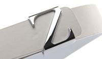 Free style Designer Faux Leather Z mental buckle  Belts for mens belt luxury designer hip belt for women waist straps Cintos