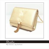 Vintage leather women messenger bags Ys famous brand girl metal chain shoulder bag purse tassel women's wallets bolsas desigual