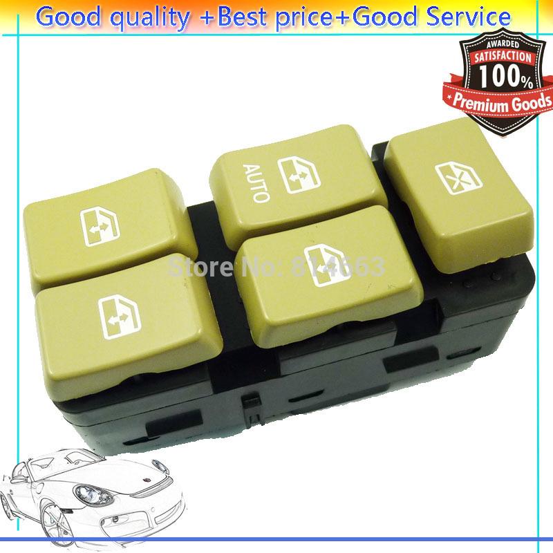 NEW Master Electric Power Window Switch (GM002) Fit Buick Rendezvous Pontiac Aztek 02-07 10339375 10283834 10413253(China (Mainland))