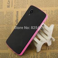 MOQ:1pcs NEO Hybrid Bumblebee Series Case Silicone TPU Skin Cover for LG Nexus 5 Google Nexus 5 N5 E980 D820 D821