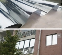 Free shipping Sun proof glass windows shading architectural window film sticker wholesale 60cm sunscreen