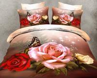 Promotion bedding sets bedclothes 3D bedding set duvet cover set cvc