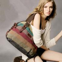 New Hot sale desigual bags women handbag canvas bolsas vintage large female totes casual Patchwork  shoulder bag