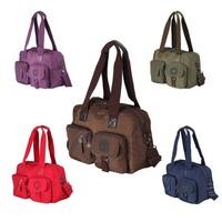 High Quality Handbags 5 Color Durable Nylon Tote Shoulder Messenger Bags Women's Shopping Bags#HC106~HC110