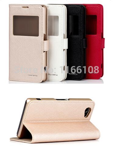 Estojo de couro genuíno para Sony Xperia Z1 Z1 Compact mini M51W Case capa casos do smartphone shell protetora da pele com tela de cinema(China (Mainland))