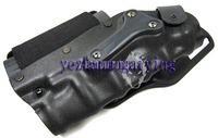 Safriland Style 3280 Modle  Waist Holster Platform Black - Free shipping