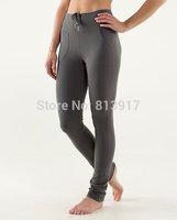 New Arrival Lulu Brand Women's Pencil Pants Candy Colors Solid Yoga Capris Popular Workout Lulu Sportwear Pants Size:XXS-XL