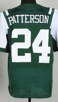 2014 Draft #24 Dimitri Patterson Men's White Elite Football Jersey, Embroidery and Sewing , mix order