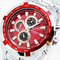 CURREN 8023 Men fashion Watches Stainless Steel Brand boys Wristwatches Man Fashions Clock Analog Quartz Dress Men's Watch, W23