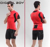 2014 Cycling Jersey Short Jeryseys Men Shirt Set Cycle Bike Sportswear Nylon Clothing Riding/Bicyle Short Sleeve Summer Wear