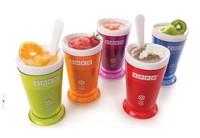 Zoku  ice cup health & Easy to use Ice Cream Maker slush & shake maker,ice cream machine smoothie self-restraint sand milk shake