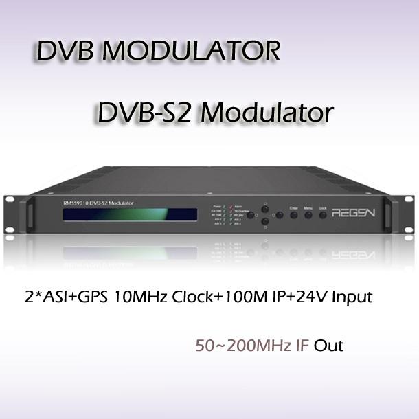 DVB-ASI TO DVB-S2 Modulator BISS Scrambing 8PSK QPSK Constellation Digital TV Headend(RMSS9010)(China (Mainland))