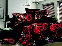 bedding set 3d printed 4pcs (1 Duvet Cover +1 bed sheet +2 pillowcases) FREE SHIPPING
