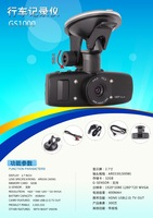Hd blackbox car dvr/dash cam camera para carro recorder veicular g1wh with video registrar wide view angel 4IR night vision