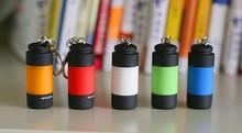 LED MINI torch led lantern Waterproof  USB rechargeable Flash light 5pcs/lot Free shipping(China (Mainland))