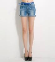 Ferzige Brand The New Stretch Denim Shorts Slim Large Size 26-34  Women's Shorts 561 - Free Shipping