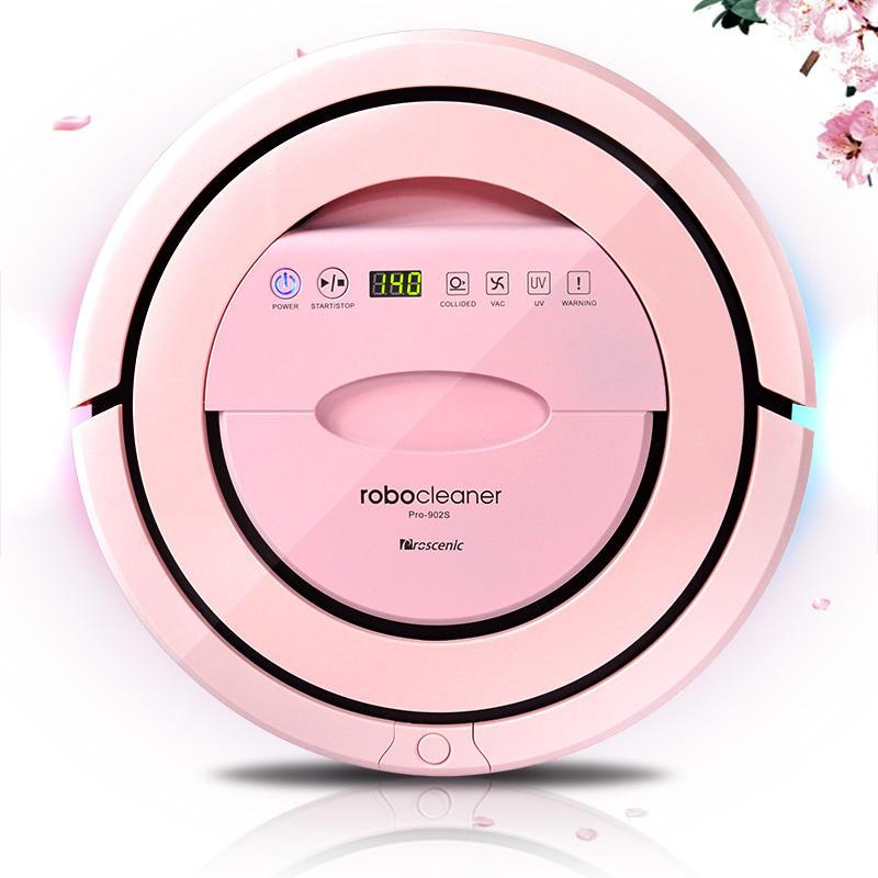 Proscenic Pro-902S cherry intelligent robot vacuum cleaner sweeping machine robot cleaner(China (Mainland))