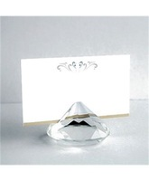 Free Shipping,12PCS/LOT,Wedding Gifts,Crystal name Card Holder Favors for Table Decoration