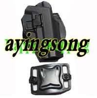 New type Blackhawk CQC Airsoft P226 hard plastic tactical holster Black