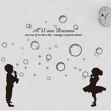 bubble wall art promotion