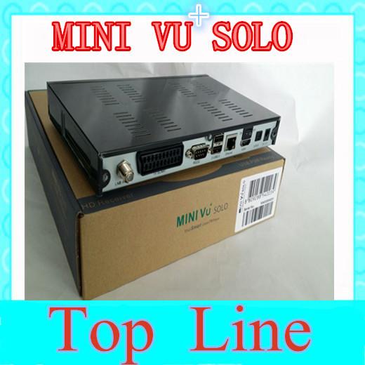 1pc DHL Free mini VU+ Solo Linux based DVB-S2 HD satellite receiver Mini MPEG2/H 264 Hardware Linux TV player(China (Mainland))
