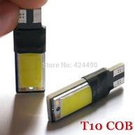 2 PCS T10 Canbus 194 168 2825 COB LED Car Brake Clearance Light W5W Wedge Backup Reverse lamp