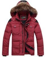 free shipping men's down jacket , 2014 new winter down jacket warm parka men's fashion coat 260
