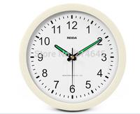 M31 8inch 22*3.6cm LUMINOVA quartz wall clock living quiet movement good price
