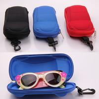 Wholesale Fashion Hot Sale Car Style Children Sunglasses Box Kids Hook Spectacles Cases