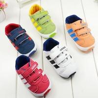 Rubber sole Princess Shoes Baby Shoes Girls boy Infant Toddler Soft Sole Prewalker Shoes First Walkers Footwear kids shoes R1085