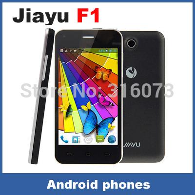 "Original JIAYU F1 WCDMA 3G android mobile phone MTK6572 Dual Core 512MB RAM 4GB ROM 5MP 4"" 800*480 TFT 2400MAh metal frame(China (Mainland))"