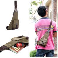 HOT SALE New 2014 Casual Sport Canvas Bag Vintage Shoulder Bag Men Travel Bags Men Messenger Bags