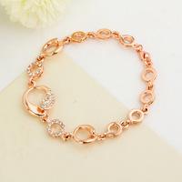 2014 Fashion Jewelry Crystal Bracelets Gold Bracelet for Women Crystal Jewelry Bangles ML-734