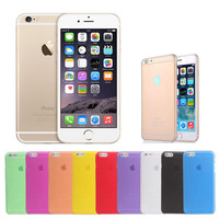 0.3mm Ultra Thin Slim Matte Frosted Transparent Clear Soft PP Cover Case Skin for iPhone 6 Plus 5.5 inch  50pcs/lot