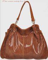2015 genuine leather bag  tote serpentine women handbag fashion bolsas women messenger bags trendy shoulder bags crossbody bag