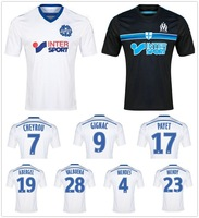 14/15 Marseille home soccer football jersey best 3A+++ Thai quality soccer jerseys uniforms Free shipping